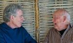Robert Saltzman and Robert Hall Photo by Richard Scott