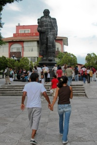 """Hand in Hand"" taken on the Zocalo in Cuernavaca by Alvaro Colindres"