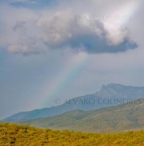 Arco Iris y Sierra de La Laguna