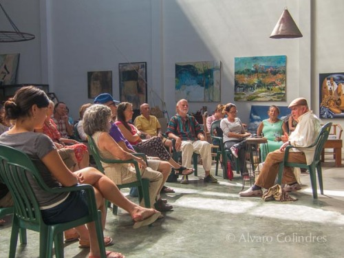 Dharma Talks at La Galeria de Todos Santos by Alvaro Colindres