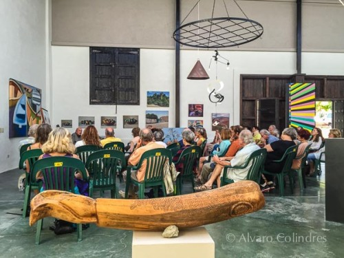 Dharma Talk at Galeria de Todos Santos by Alvaro Colindres