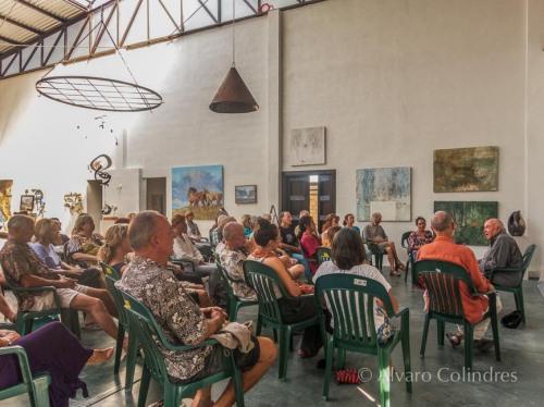 Dharma Talk at Galeria de Todos Santos by Alvaro Colindres