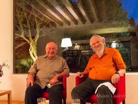 Robert K Hall and Claudio Naranjo