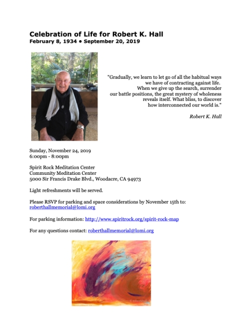 Celebration of Life for Robert K